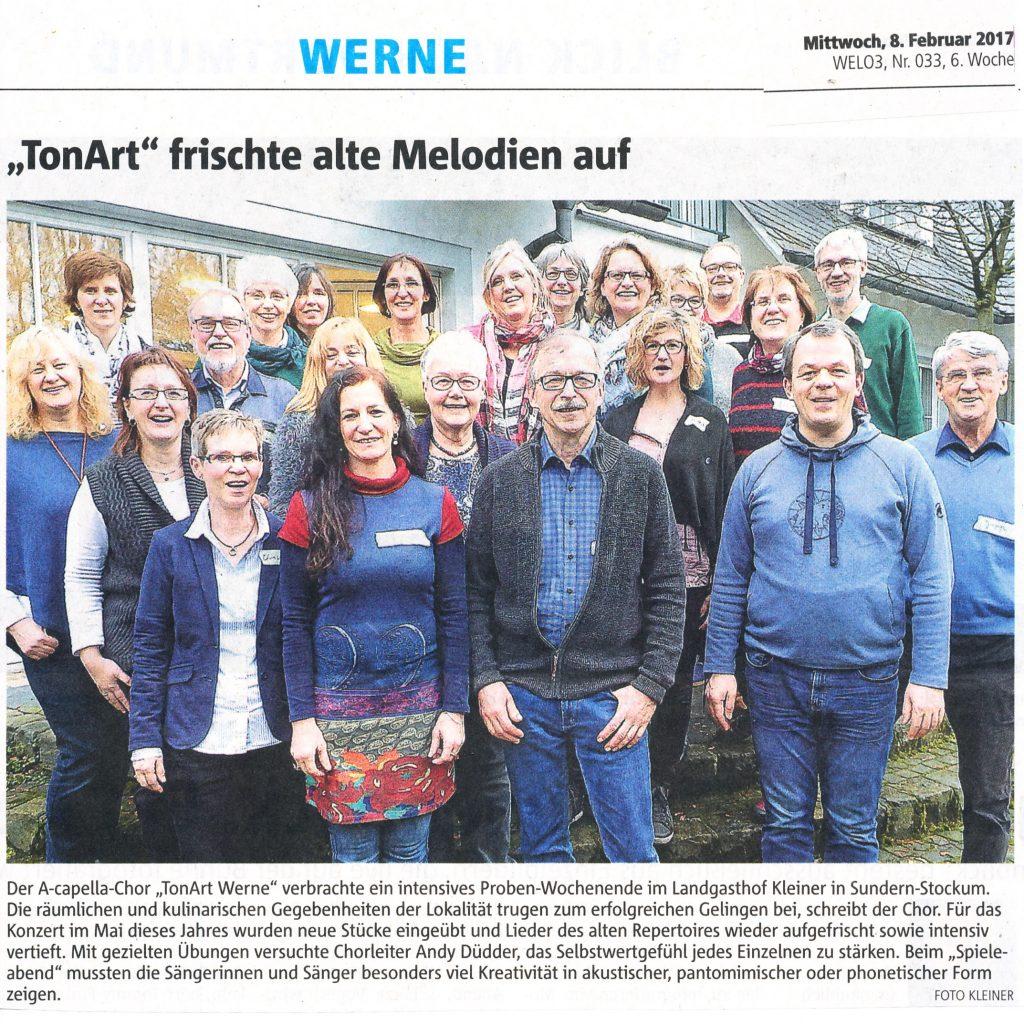 Ruhr-Nachrichten 8.2.2017